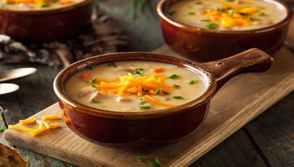 Aprende a preparar exquisitas sopas y cremas para enfrentar el invierno. / Foto: Shutterstock.
