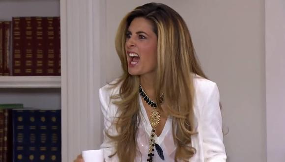 """La vez que Mayrín Villanueva lloró a escondidas en su camerino durante las grabaciones de """"Mi corazón es tuyo"""" (Foto: Televisa)"""