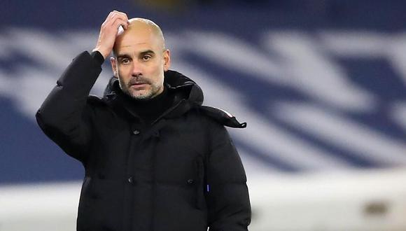 Pep Guardiola espera que Eric García se quede en el Manchester City. (Foto: AFP)