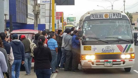 Paro de transportistas: 250 empresas de Lima no operan hoy