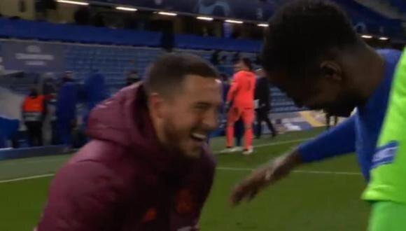Eden Hazard fue criticado en redes sociales tras ser captado riéndose con jugadores del Chelsea | FOTO
