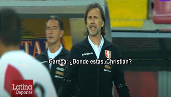 Así vivió Ricardo Gareca el Perú vs. Argentina en Lima | Foto: Captura