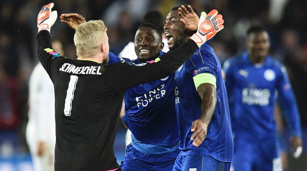 Leicester: eufórica celebración tras victoria en Champions - 4