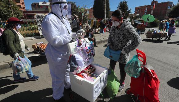 Coronavirus en Bolivia  Últimas noticias   Último minuto: reporte de infectados y muertos hoy, lunes 14 de junio del 2021   Covid-19. EFE