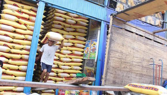 Colombia fue el principal país destino del arroz peruano. (Foto: Minagri)