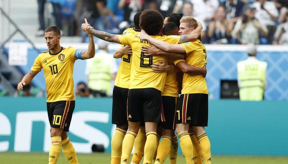 Bélgica fue dominador del juego de principio a fin. Inglaterra nunca puso en aprietos a los 'Diablos Rojos'. El resultado fue 2-0 a favor de los belgas que se quedan con la medalla de bronce. (Foto: AP)