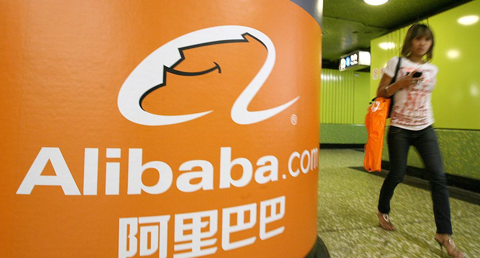 7. El principal mercado en línea de China, Alibaba, ocupa el sexto lugar con un valor de US$ 472 mil millones. Como se recuerda, la compañía inició operaciones en 1999. (Foto: AFP)