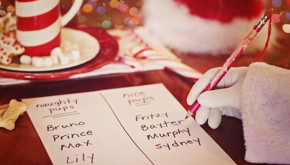 Un padre de familia quedó sorprendido por la costosa lista de regalos navideños que elaboró su hija de 10 años   Foto: Pixabay / TerriC / Referencial