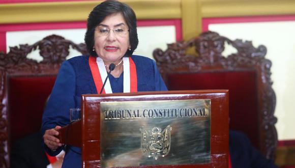 Marianella Ledesma defendió la propuesta del Tribunal Constitucional se reducir los sueldos de altos funcionarios por el coronavirus. (Foto: Lino Chipana / GEC)
