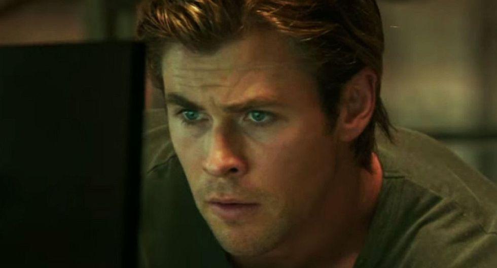 """Así lucía Chris Hemsworth en la película """"Hacker: Amenaza en la red"""". (Foto: Universal Pictures)"""