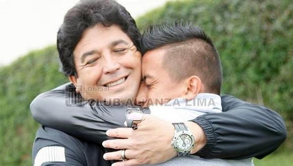 "Rivera, técnico que hizo debutar a Cueva: ""Le decían 'Chavito'"""