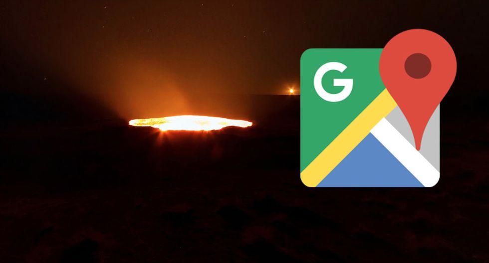 """¿Sabes dónde queda la """"entrada al infierno""""? Google Maps te muestra el lugar en todo su esplendor. (Foto: Google)"""