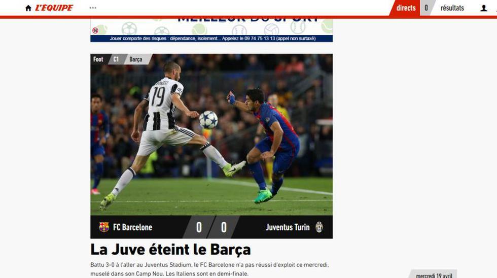 Barcelona vs Juventus: las portadas tras la eliminación culé - 14