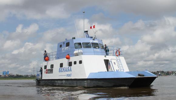 Loreto: embarcación del Senasa navegará 15 días para atender a productores de comunidades nativas (Foto: Senasa)