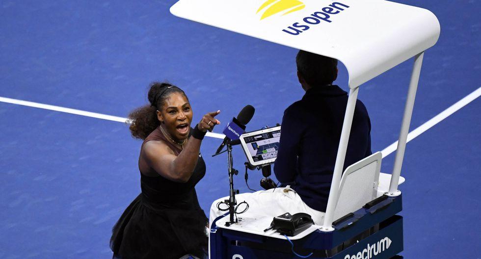 Serena Williams tuvo un comportamiento polémico en la final femenina del US Open 2018. (Foto: Reuters)