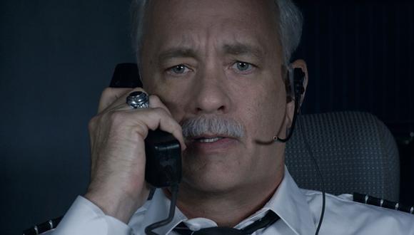 """""""Sully"""", lo nuevo de Tom Hanks, lidera la taquilla en EE.UU"""