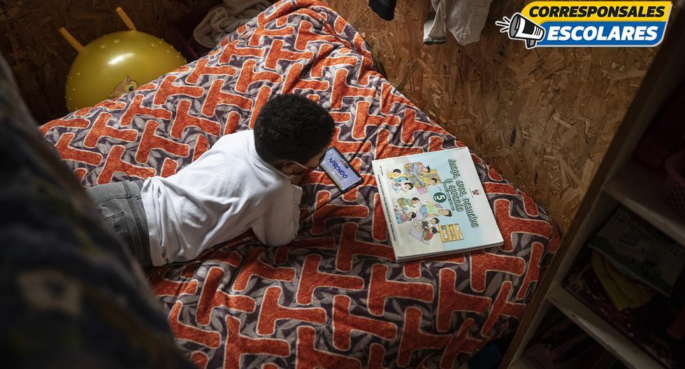 Los estudiantes se han tenido que acostumbrar a una nueva forma de estudiar. Foto: César Campos