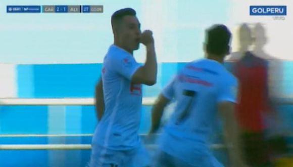 Alianza Lima vs. Real Garcilaso: Javier Núñez y el 2-1 desde el punto penal   Foto: Captura