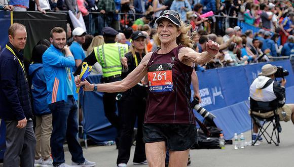 En abril de 1967, la norteamericana Katherine Switzer se atrevió a inscribirse en la maratón de Boston.