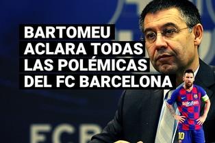 El presidente del Barcelona aclaró todas las dudas sobre la continuidad de Lionel Messi como azulgrana