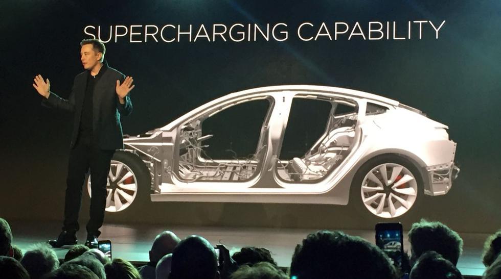 """El Tesla Model 3, el coche eléctrico """"de masas"""" de US$35.000 - 7"""