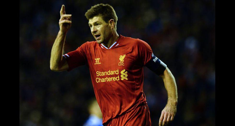 Steven Gerrard. (Foto: AFP)