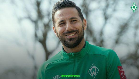 Pizarro puede jugar esta tarde sus últimos minutos como profesional. (Foto: Werder Bremen)