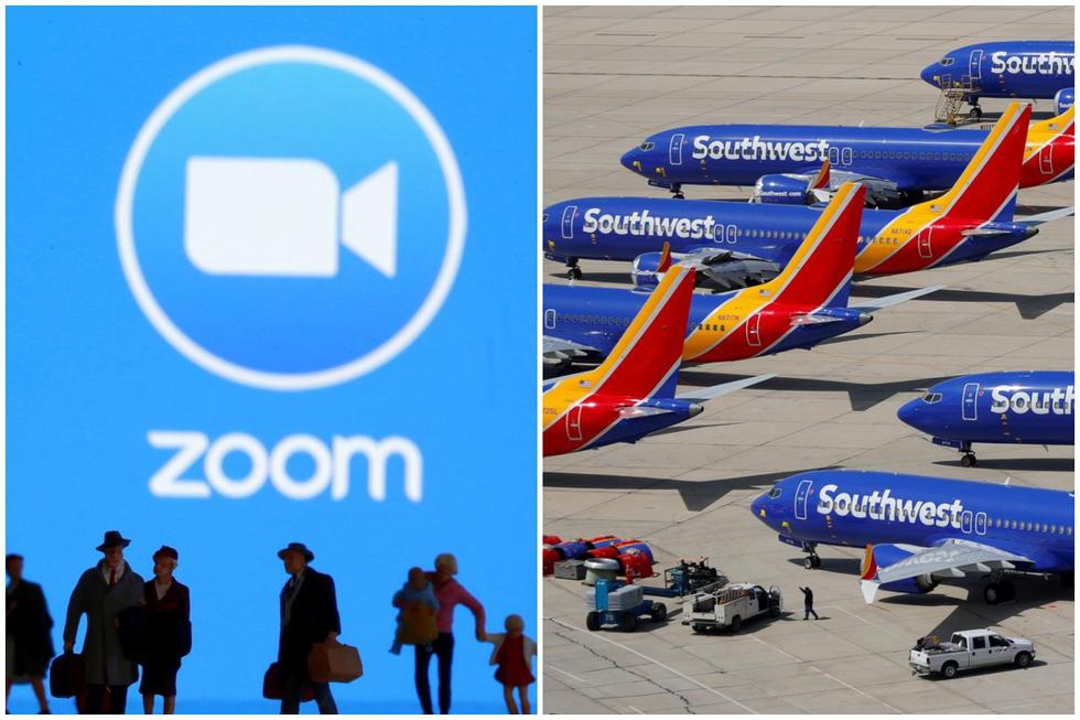 Revisa en la siguiente galería a cuánto asciende la capitalización de las principales empresas del rubro aéreo, así como también la de Zoom.