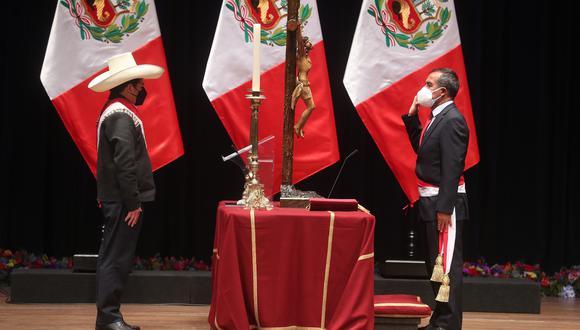 """""""Lo que he hecho, por respeto al presidente, porque él toma la decisión final, he puesto mi cargo a su disposición"""", afirmó Maraví. (Foto: Ministerio de Trabajo)"""