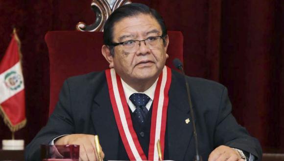 El presidente del JNE, Jorge Luis Salas, señaló que los protocolos para evitar contagios de COVID-19 debe darlos el Ministerio de Salud. (Foto: Andina)