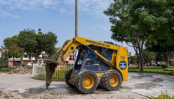 La Municipalidad de Lima realizó durante el primer trimestre del 2021 la construcción y el resane de 2,041.5 m² de veredas y 337 m² de sardineles en parques, calles y avenidas principales. (Foto: MML)