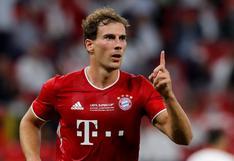 Bayern Múnich vs. Sevilla: el golazo de Goretzka tras sensacional pase de Lewandowski [VIDEO]