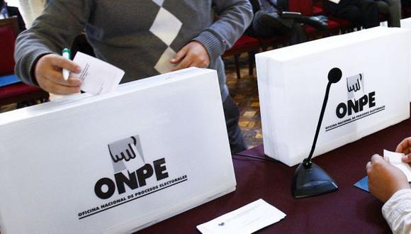 ONPE presentó 83 denuncias penales por delitos electorales