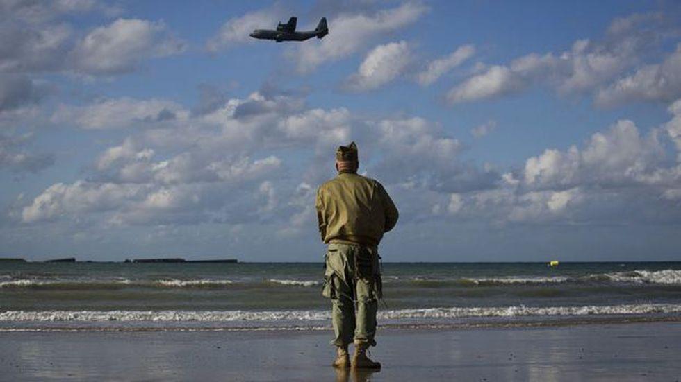 El desembarco estuvo apoyado por 11.000 aviones aliados.