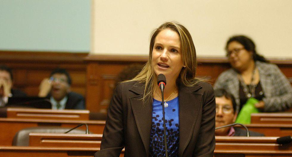 Luciana León es sindicada de ser el 'brazo político - legal' de Los Intocables Ediles. (Foto: GEC)
