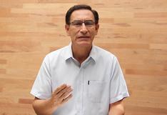 Martín Vizcarra asegura que no renunciará a su candidatura al Congreso de la República