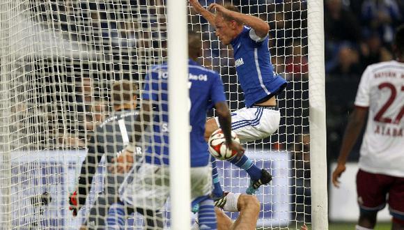 Bayern Múnich igualó 1-1 con Schalke en debut de Xabi Alonso