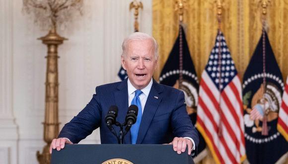 El presidente de Estados Unidos, Joe Biden,  se pronunció sobre lo acontecido en la frontera de su país con México. (Foto: EFE / EPA / SARAH SILBIGER)