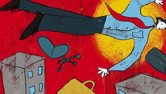 Regreso a las oficinas. (Ilustración: Giovanni Tazza / El Comercio)