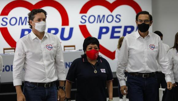 Un sector de Somos Perú continúa cuestionando el accionar de la presidencia del partido, Patricia Li, y su respaldo a las candidaturas de Martín Vizcarra al Congreso y de Daniel Salaverry a la presidencia. (Foto: GEC)