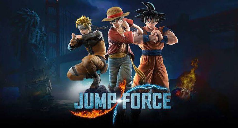 Jump Force está disponible para PlayStation 4, Xbox One y PC. (Foto: Bandai Namco)