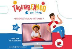 La Tarumba estrena una nueva edición de sus talleres virtuales para niños y adolescentes