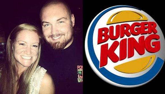 Burger King pagará la boda del señor Burger y la señora King
