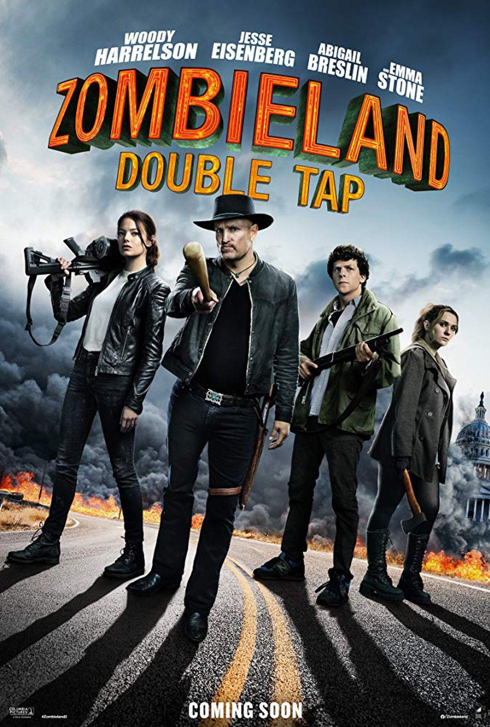 """Los cuatro protagonista vuelven para la secuela de """"Zombieland"""" (Foto: Sony Pictures)"""