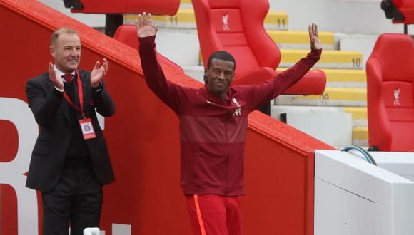 Georginio Wijnaldum se inclina por la oferta de PSG y deja atrás a Barcelona. (Foto: Reuters)