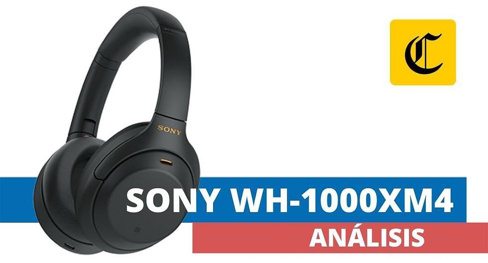 Los auriculares WH-1000XM4 de Sony son los mejores disponibles en el mercado local. (El Comercio)