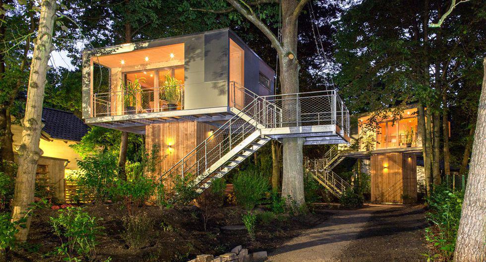 La Treehouse Urbana se creó gracias a la firma alemana Baumraum en Berlín. La idea fue de Kolja Stegemann y su abuelo quienes querían vivir en contacto con la naturaleza. (Foto: baumraum)