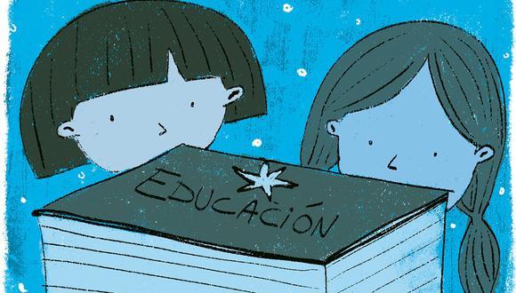"""""""Priorizar el cierre de brechas en la educación significa apostar por un futuro post pandemia"""". (Ilustración: Giovanni Tazza)"""
