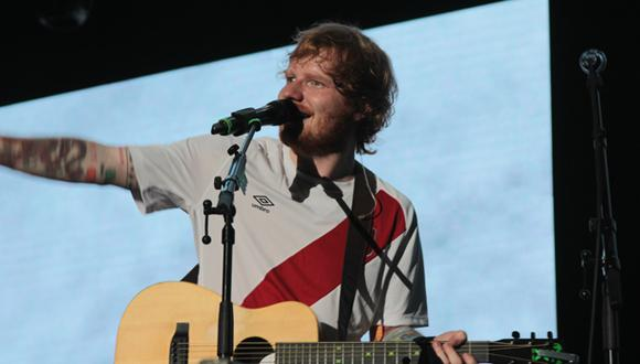 Ed Sheeran sudó la camiseta en Lima (CRÓNICA)