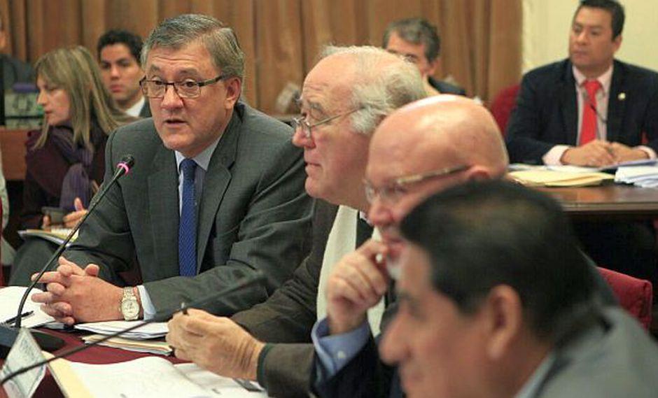El ministro Grados acudió a la Comisión de Economía para exponer los alcances del proyecto de ley de empleo juvenil impulsado por el Ejecutivo. (Foto: El Comercio)